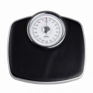 gohide-1pcs-health-scale-mechanical-scales-no-8711-weight-scale-body-scale-pointer-balance-weight-ultra-slip-rubber-black