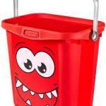 باکس دسته دار بزرگ کرور (CURVER) قرمز، جعبه نگهدارنده کرور، جعبه وسایل