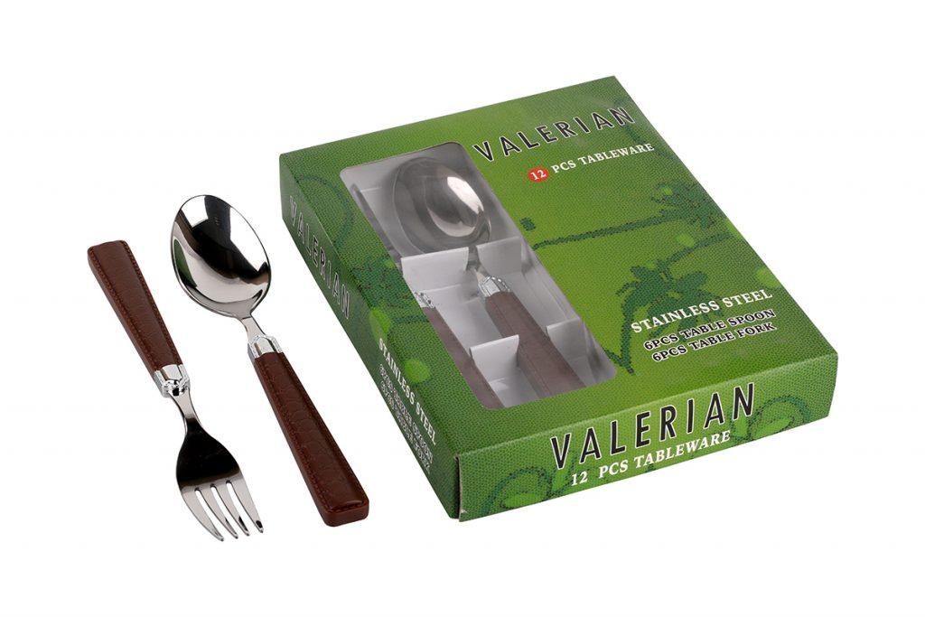 قیمت و خرید قاشق و چنگال والرین (Valerian) 12 پارچه مدل 2908 DS (1)