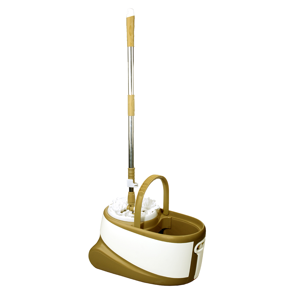 تی شوی چرخشی والرین (Valerian) چرخدار Walkable Mop طلایی