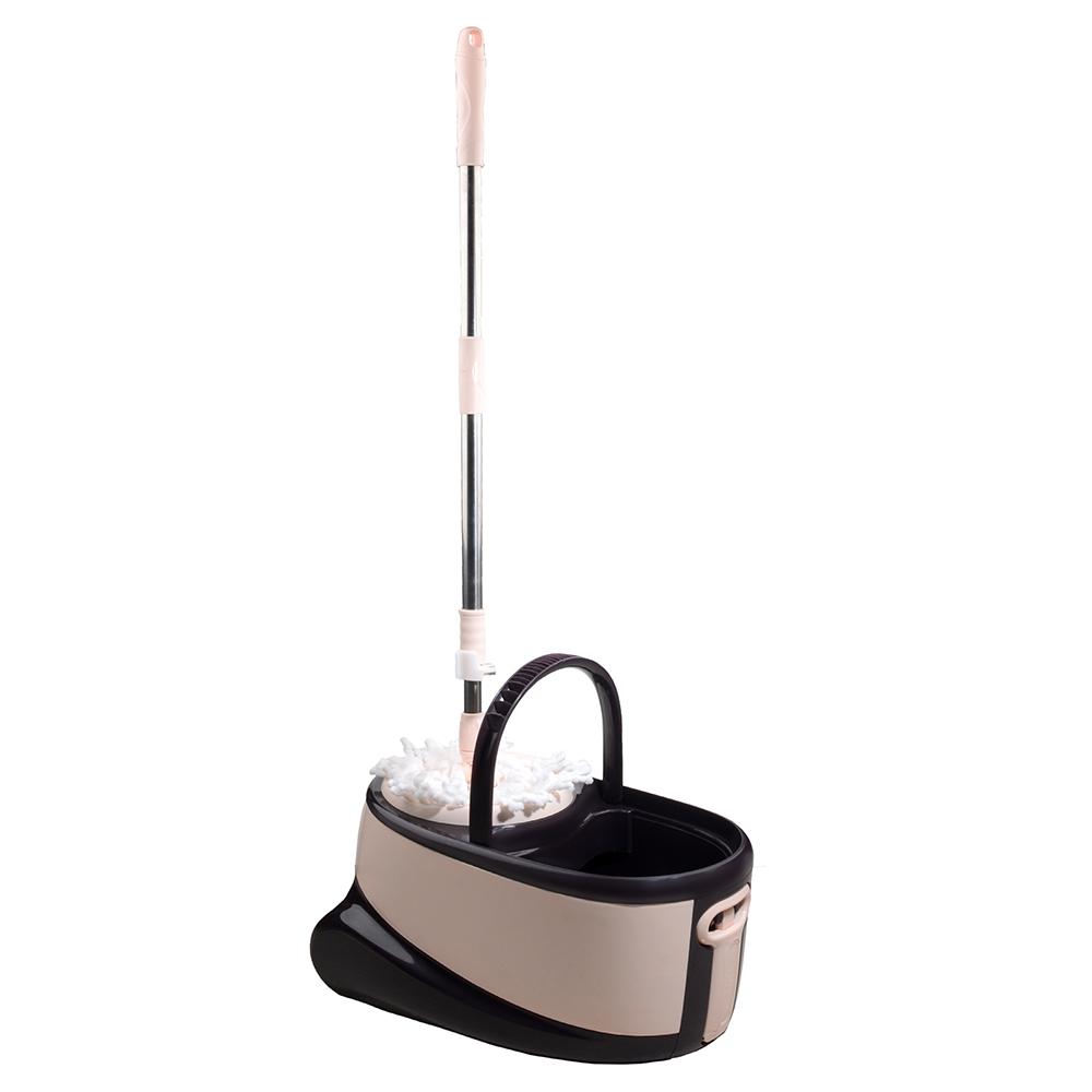 قیمت و خرید تی شوی چرخشی والرین (Valerian) چرخدار Walkable Mop گلبهی