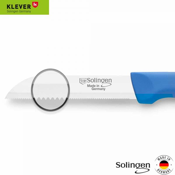 قیمت و خرید چاقو اره ای زولینگن (Solingen) آلمانی لیزری دسته رنگی 1