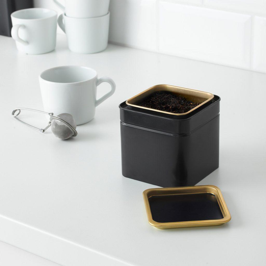قیمت و خرید ظرف نگهدارنده چای و قهوه ایکیا (IKEA) مدل Blomning (1)