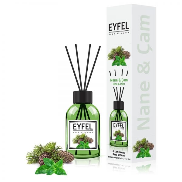 قیمت و خرید خوشبو کننده ایفل (Eyfel) رایحه کاج و نعناع (Pine&Mint) (1)
