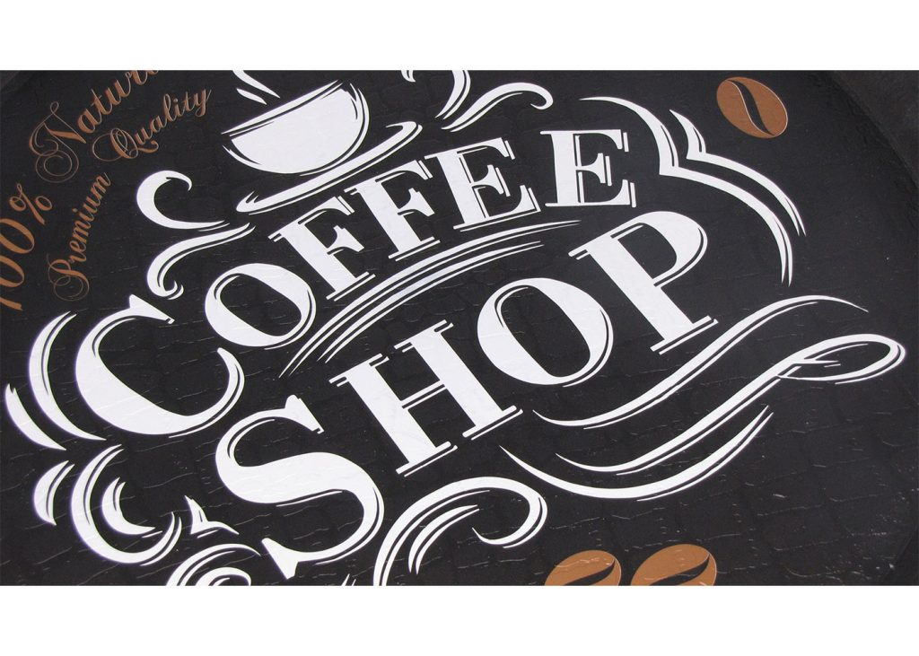 سینی گرد رایکا قطر 32 مدل Coffee Shop