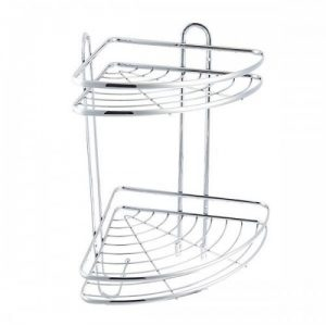 قیمت و خرید قفسه حمام دو طبقه والرین (Valerian) مدل HO-2214A